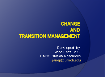 Ways to Transition Staff Smoothly During Periods of Change