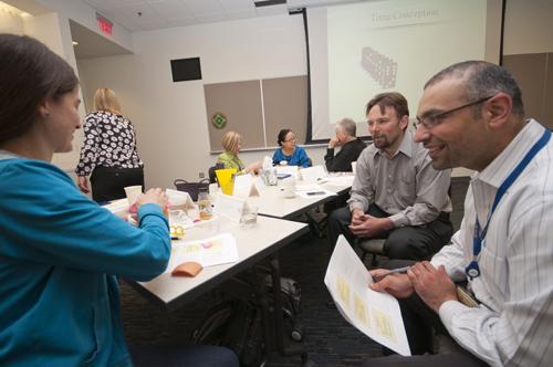 Faculty Development time management workshop participants